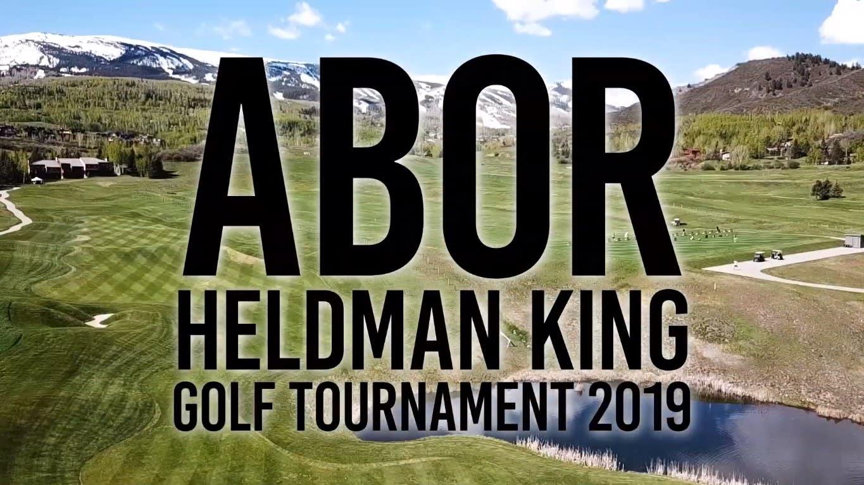 Aspen Board of Realtors Golf Tournament 2019 video preview