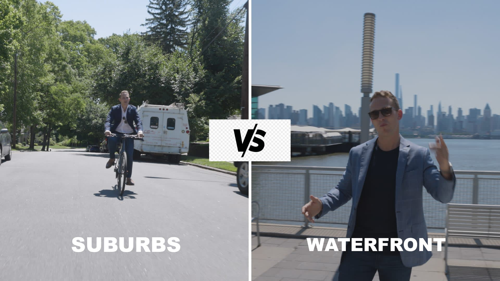 Suburbs vs. Waterfront (Port Imperial) - VLOG #023 video preview