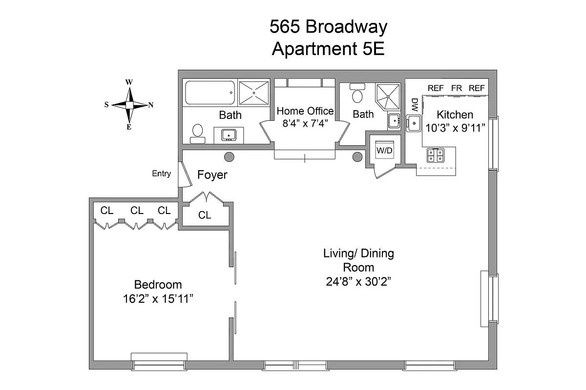 565 Broadway 5E