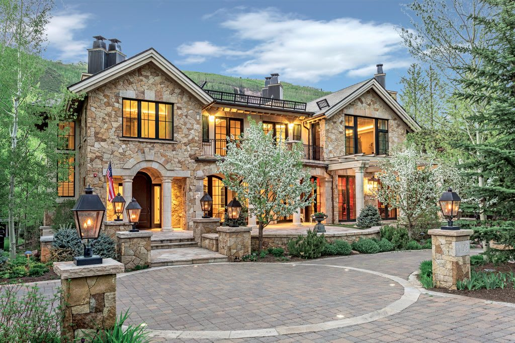 LIV SIR Represents The Sale Of An Iconic Estate On Vail Golf Course For $17,250,000