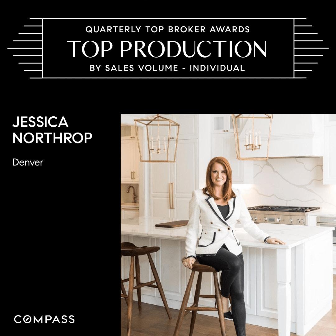 Jessica Northrop Top Denver Broker 2020-2021
