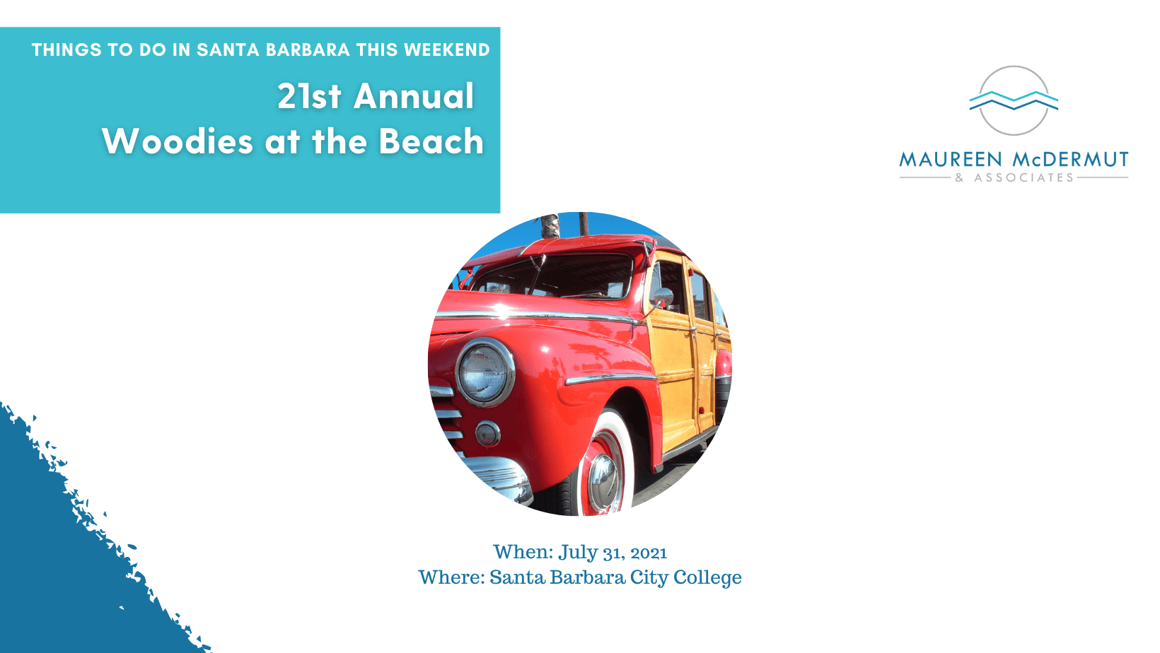 21st Annual Woodies at the Beach image