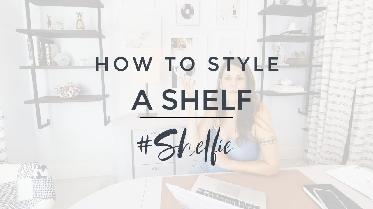 How to Style Floating Shelves - Interior Design Tips video preview
