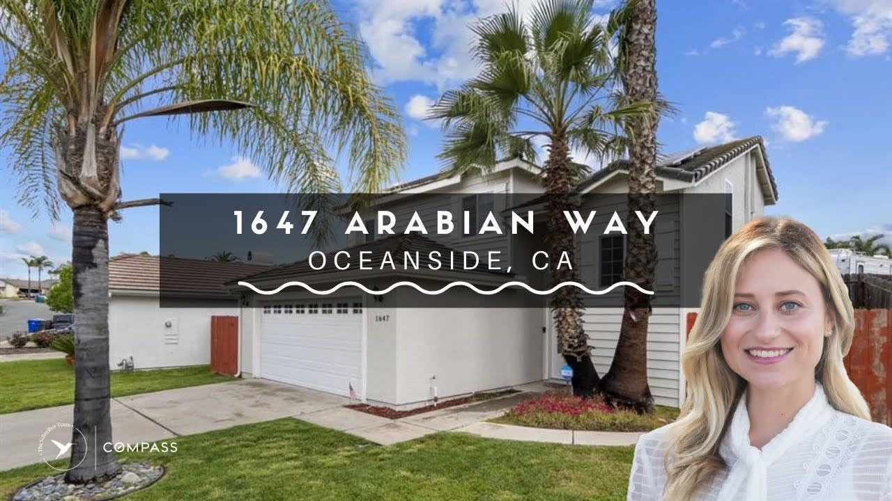 San Diego Real Estate: Oceanside Jeffries Ranch Home video preview