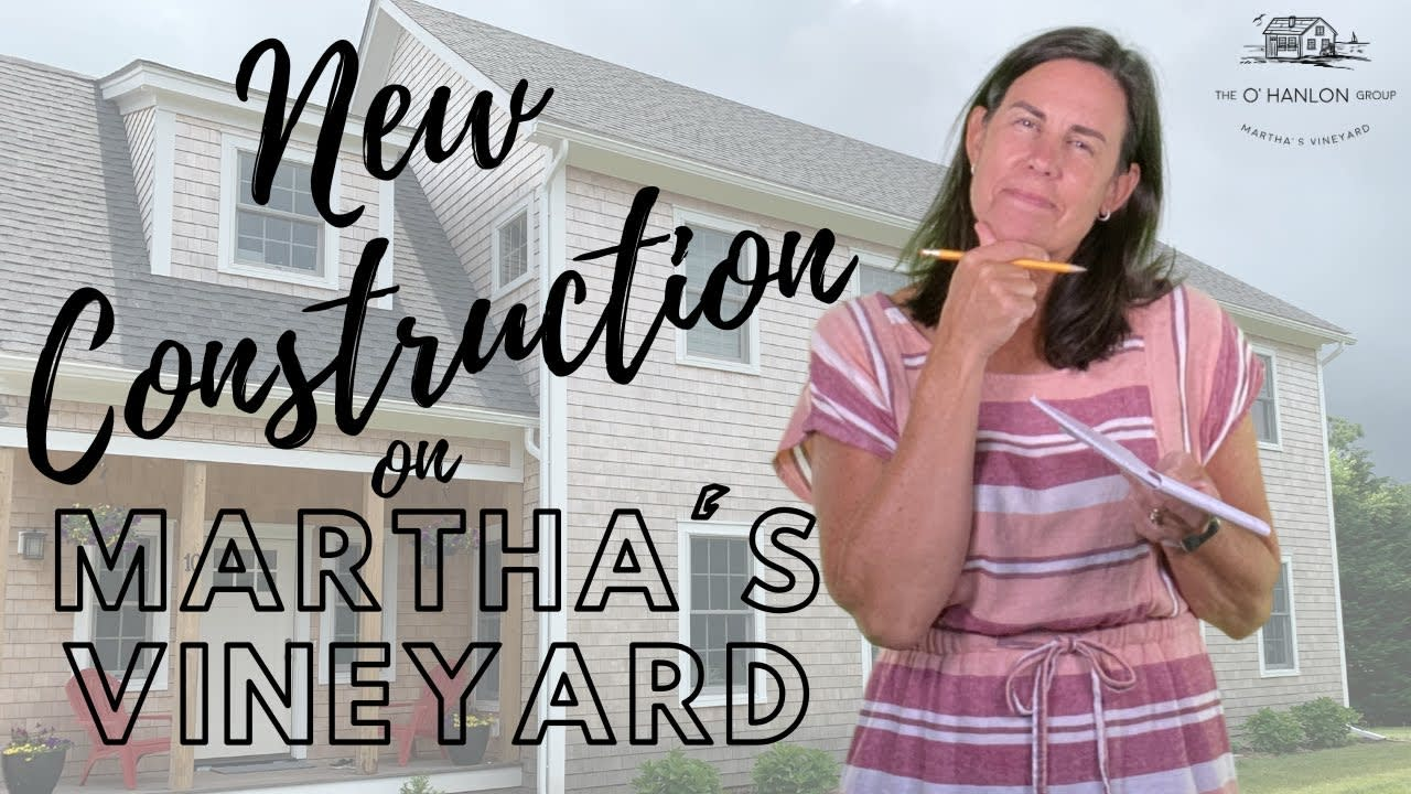 New Construction on Martha's Vineyard - Choosing a Homesite and Builder video preview