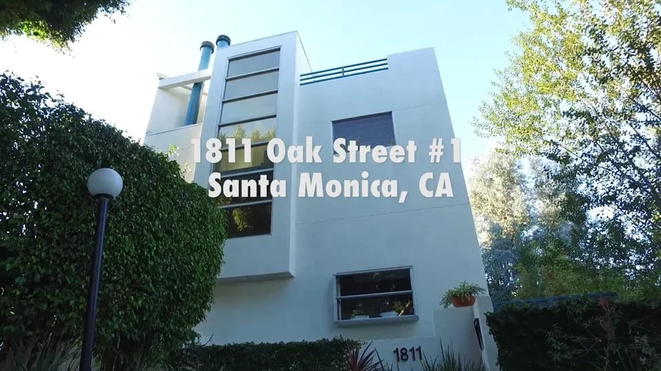 1811 OAK STREET #1, SANTA MONICA video preview