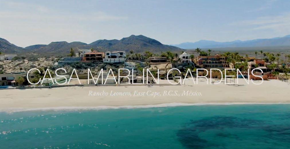 Casa Marlin Gardens - Rancho Leonero, East Cape, BCS, Mexico video preview