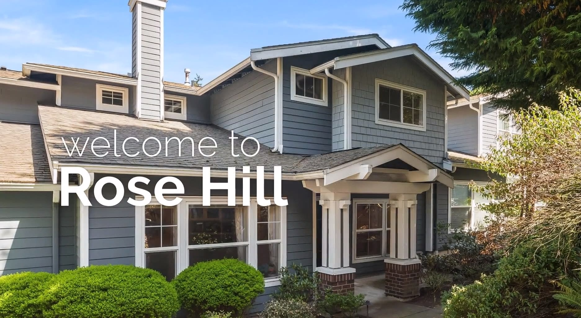 Location is Everything   Rose Hill Townhome video preview