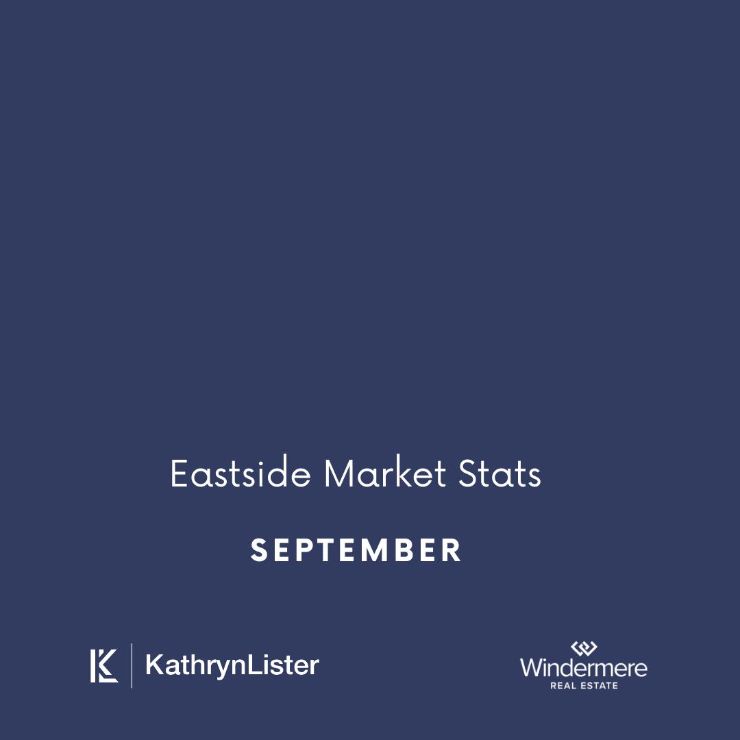 September Eastside Area Market Stats