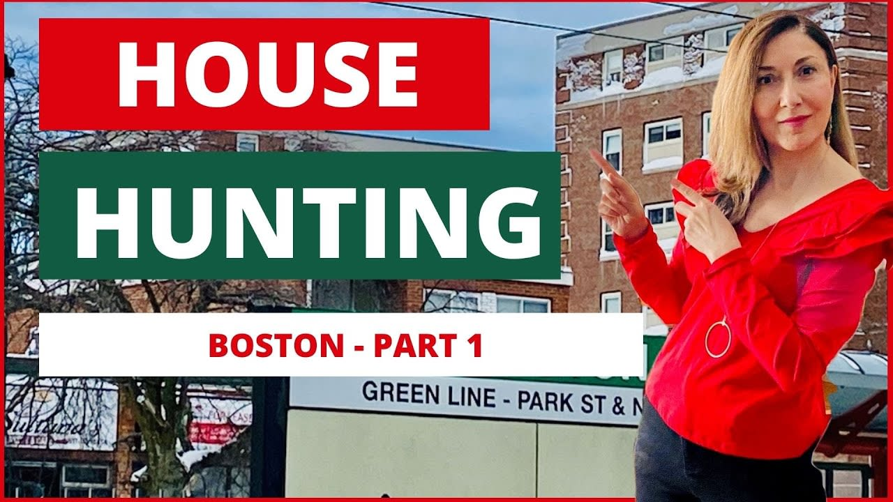 HOUSE HUNTING: Tiny urban living in Boston - Part 1 [Brighton VLOG] video preview