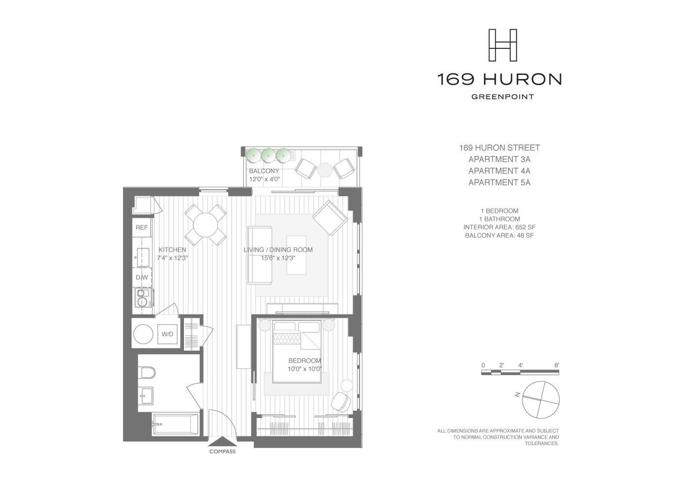 169 Huron Street, Unit 4A photo