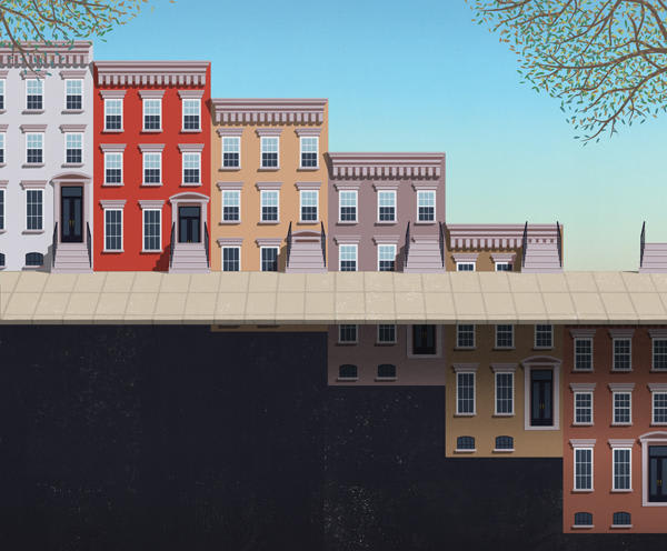 Trouble in the townhouse market?