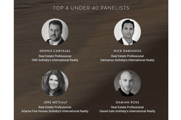 SOTHEBY'S INTERNATIONAL REALTY – TOP 4 UNDER 40