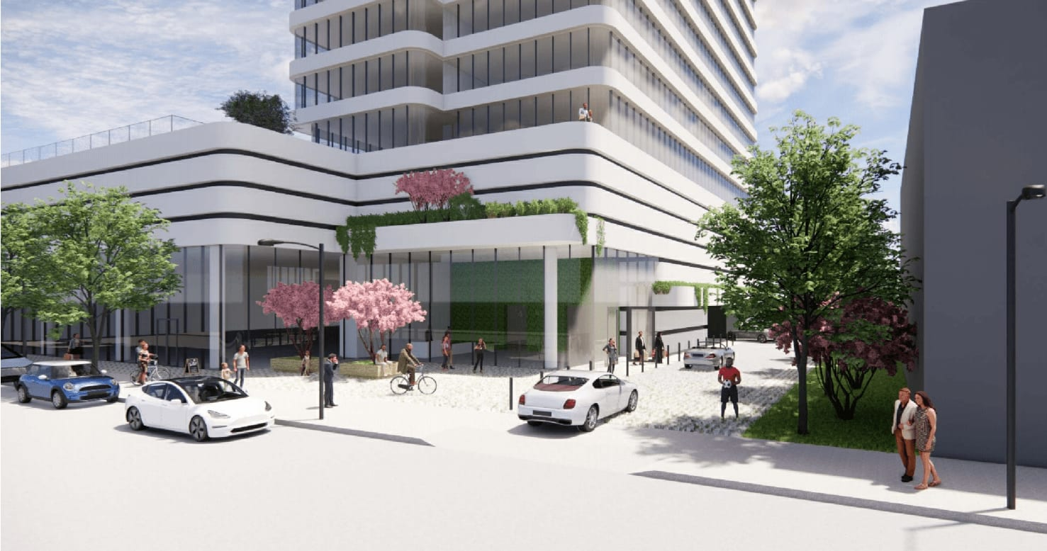 $12.5M St. George site with plans for a 20-story residential building