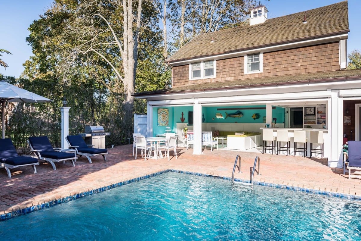 Southampton Village Historic with Guest/Pool House