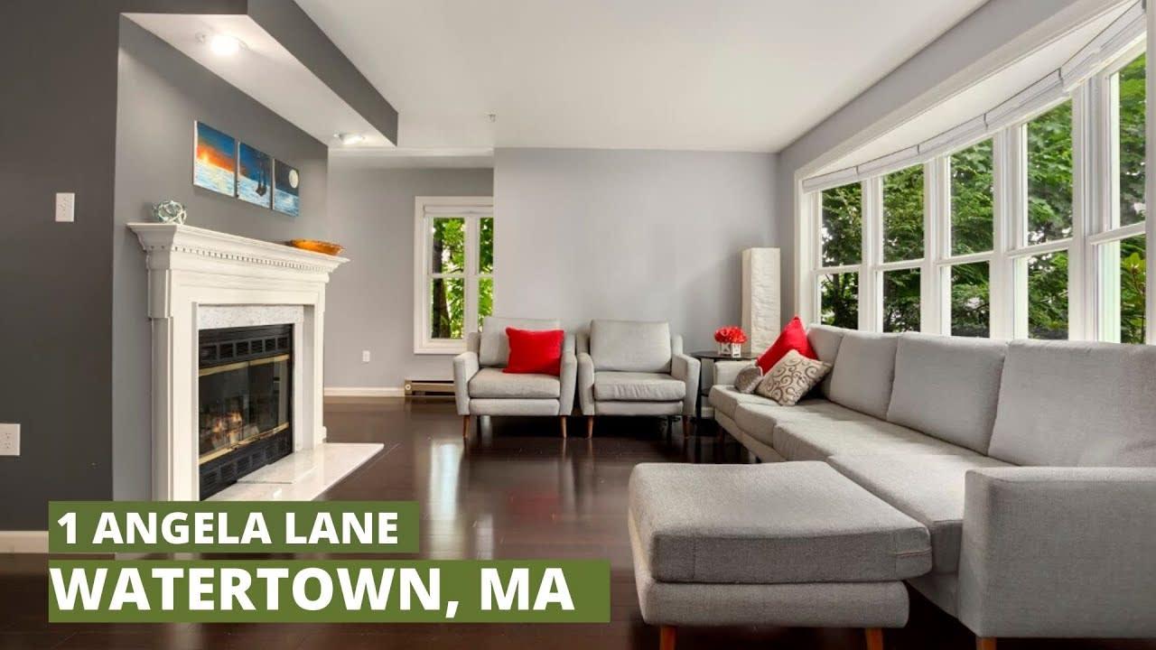 Video TOUR of CONDOMINIUM in Watertown/Boston suburb - 1 Angela Lane, Watertown, MA video preview