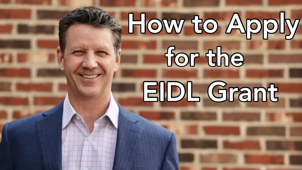 How to Apply for the EIDL Grant video preview