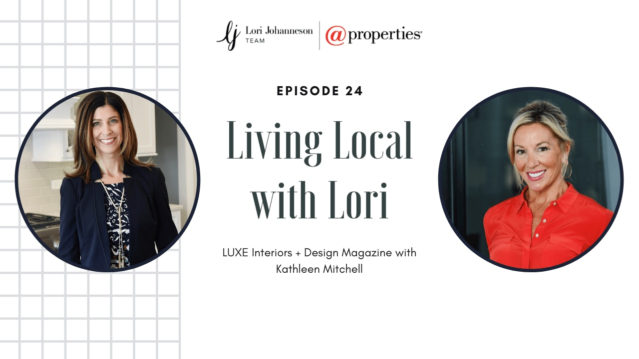 Living Local With Lori   Episode 24   LUXE Interiors + Design with Kathleen Mitchell video preview