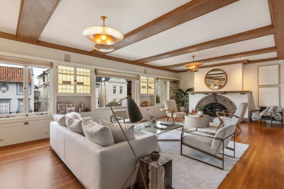 Inside a Historic Home in Presidio Heights