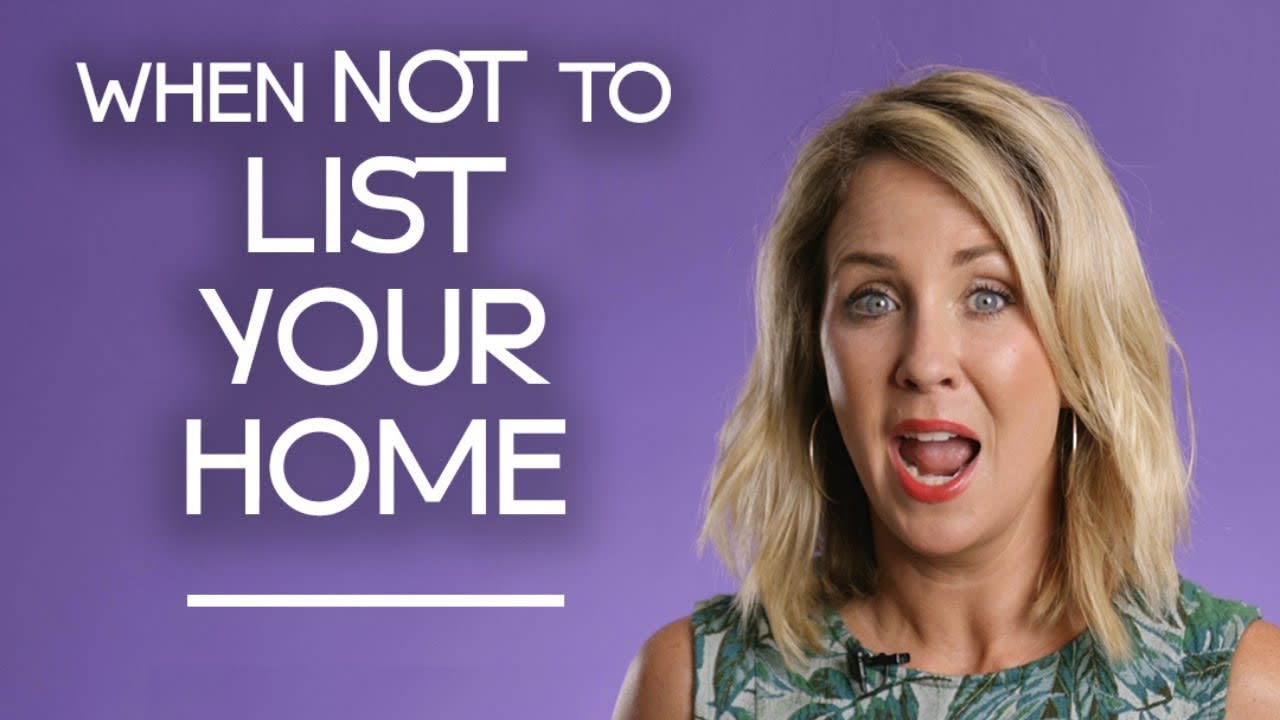 When Not to List Your Home For Sell video preview