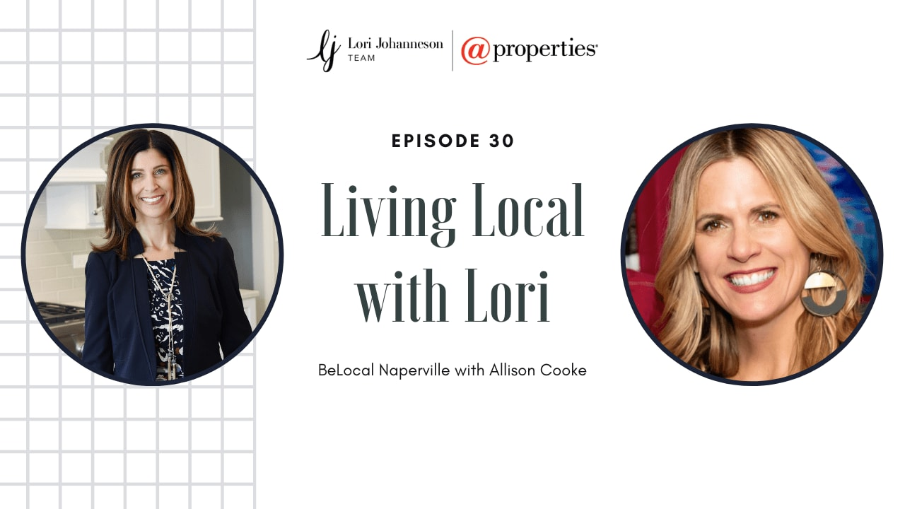 Living Local with Lori   Episode 30   BeLocal Naperville with Allison Cooke video preview