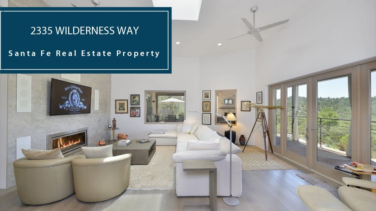 Santa Fe Luxury Home for Sale - 12 Acres | 2335 Wilderness Way video preview