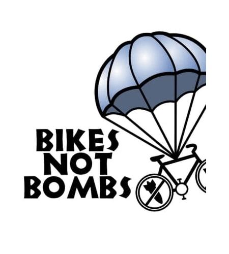 Bikes not Bombs image