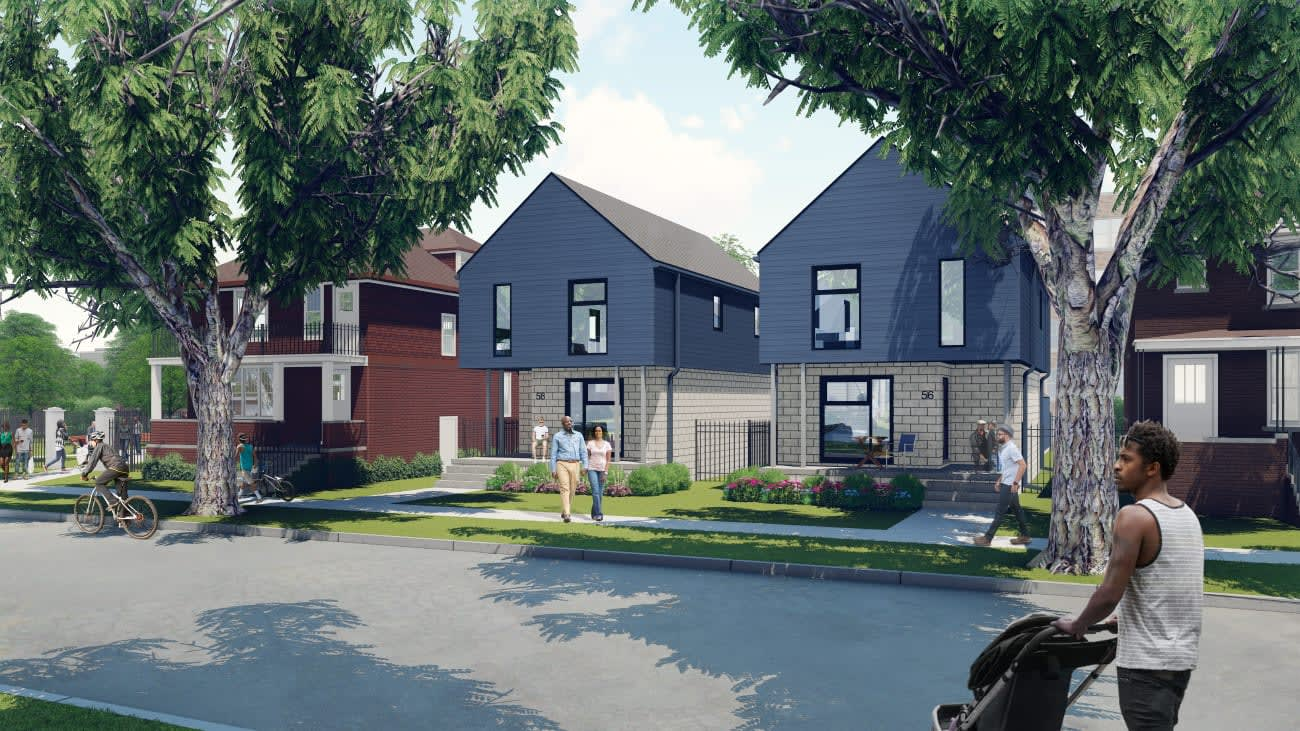 North End Single Family Homes