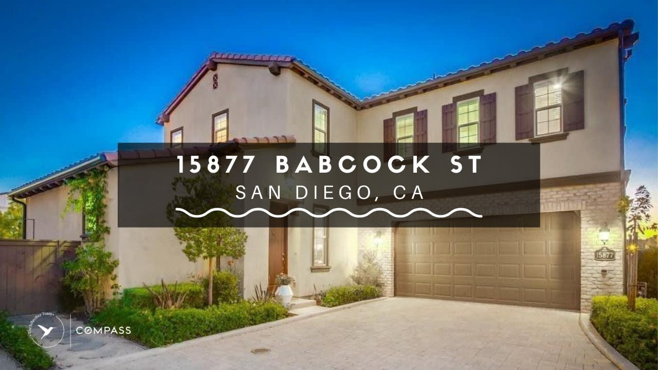 San Diego Real Estate: 15877 Babcock St, San Diego, CA video preview
