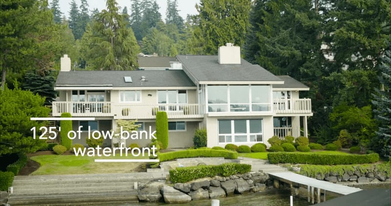 """5403 West Mercer Way """"Gold Coast Waterfront """" video preview"""