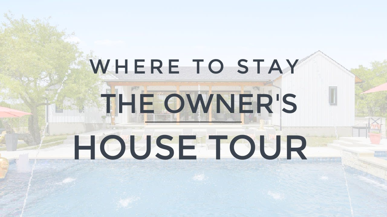 Where to Stay in Austin - The Owners House! video preview