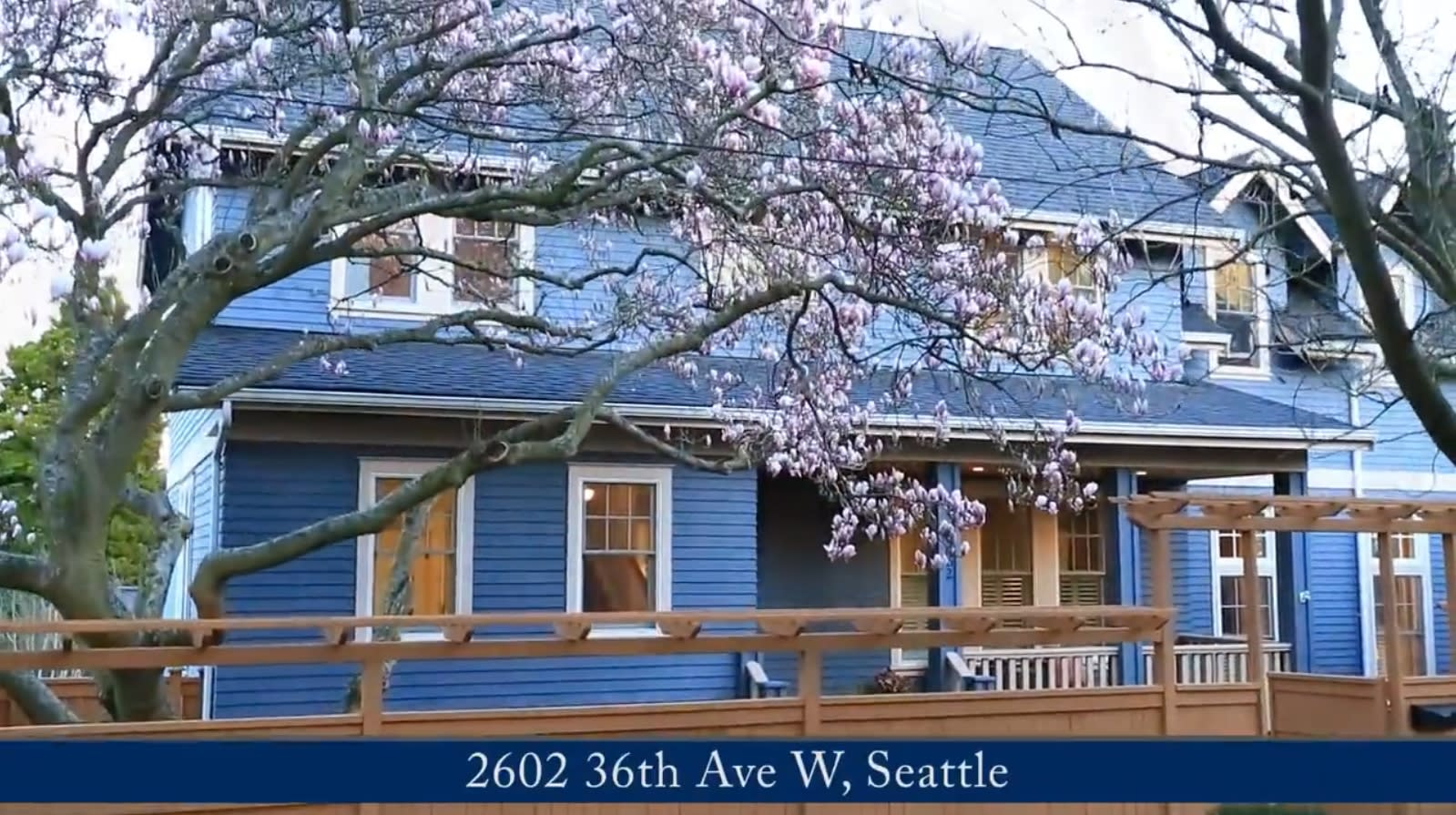 2602 36th Ave W, Seattle - Magnolia Luxury Home video preview