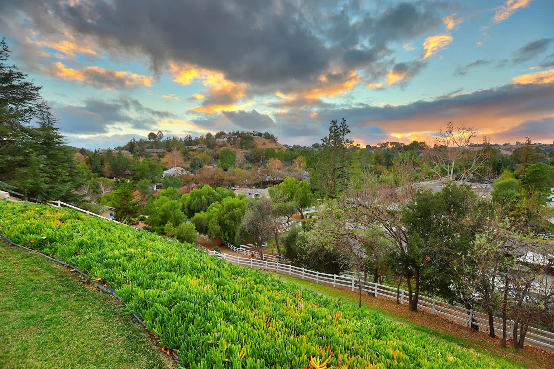 Serene Panoramic Views Behind the Gates of Hidden Hills