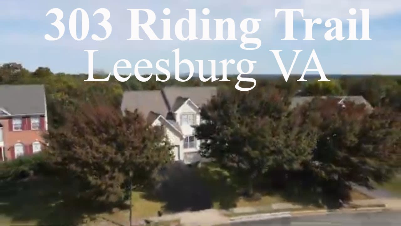 Leesburg Home For Sale 303 Riding Trail video preview