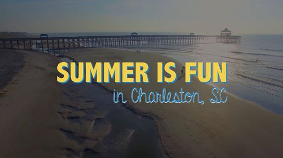 Charleston is the ultimate destination for SUMMER FUN! video preview