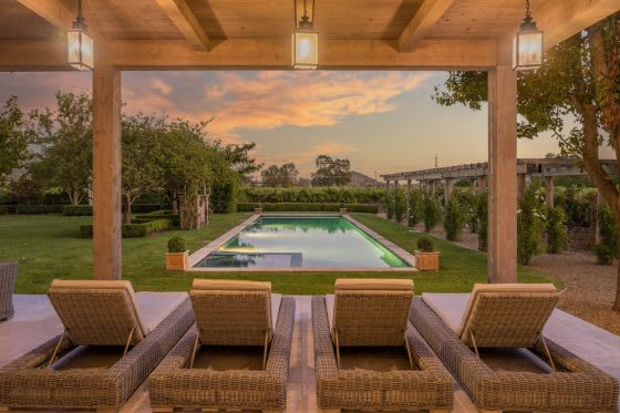 Inside an Idyllic Wine Country Estate
