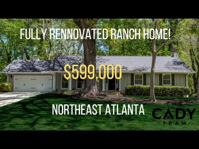 Fully Renovated Beautiful NE Atlanta Ranch video preview