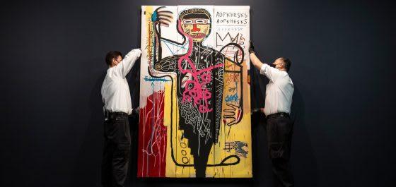 Jean-Michel Basquiat's 1982 Masterwork Versus Medici Will Star in Sotheby's May Sale