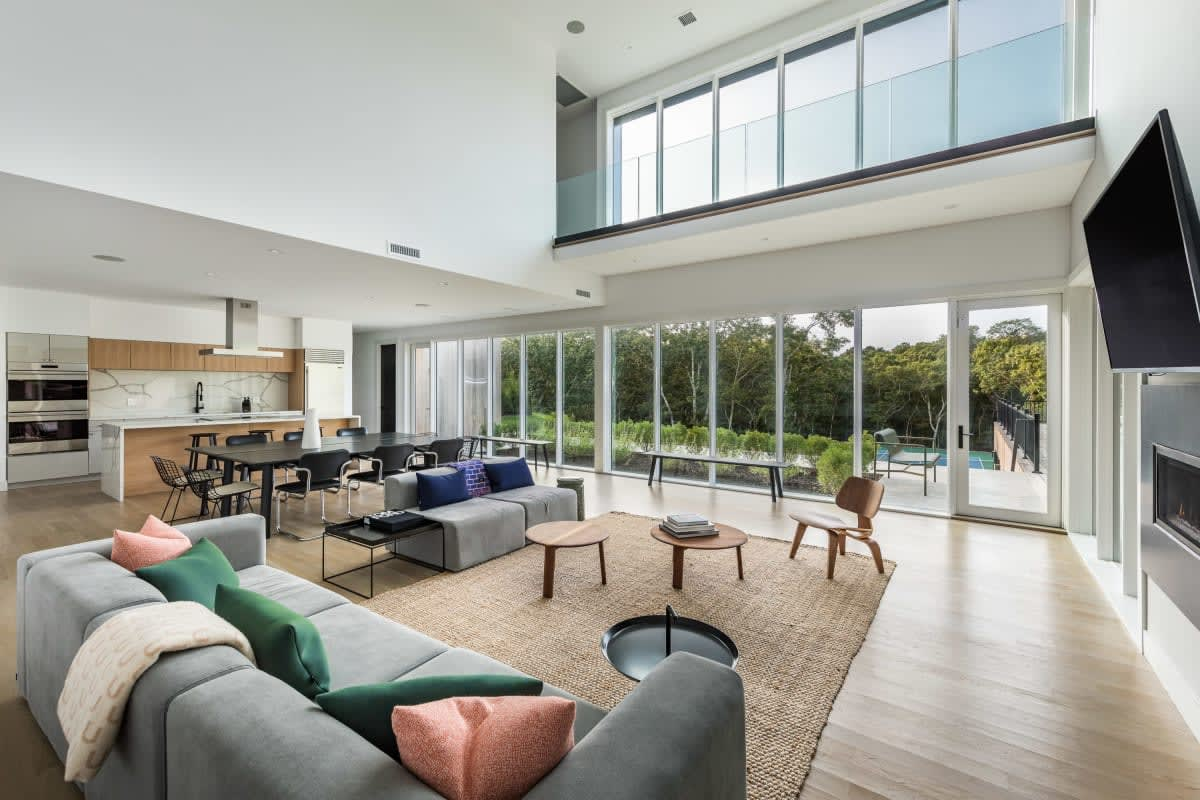 Celebrity-Owned Modern New Construction Set Above the Tree Tops