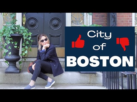 Living in Boston PROS and CONS I Moving to Boston and loving it video preview