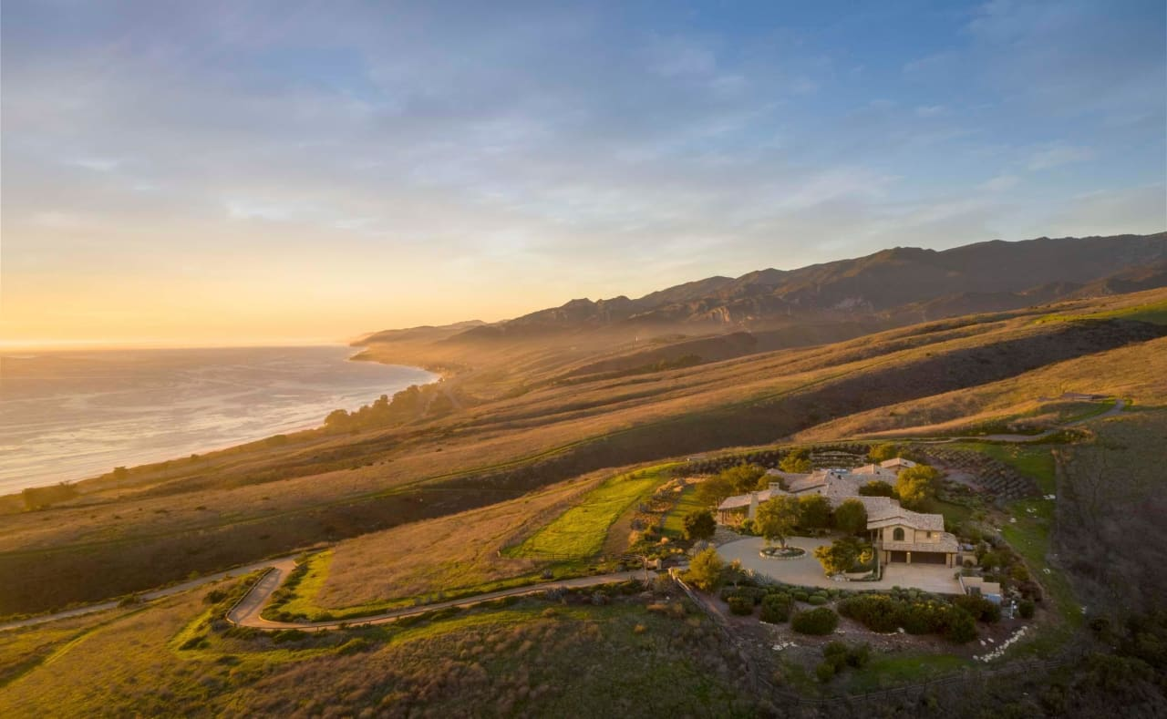WALL STREET JOURNAL: California Coast Ranch Linked to Formula One Heavyweight Lists for $110 Million