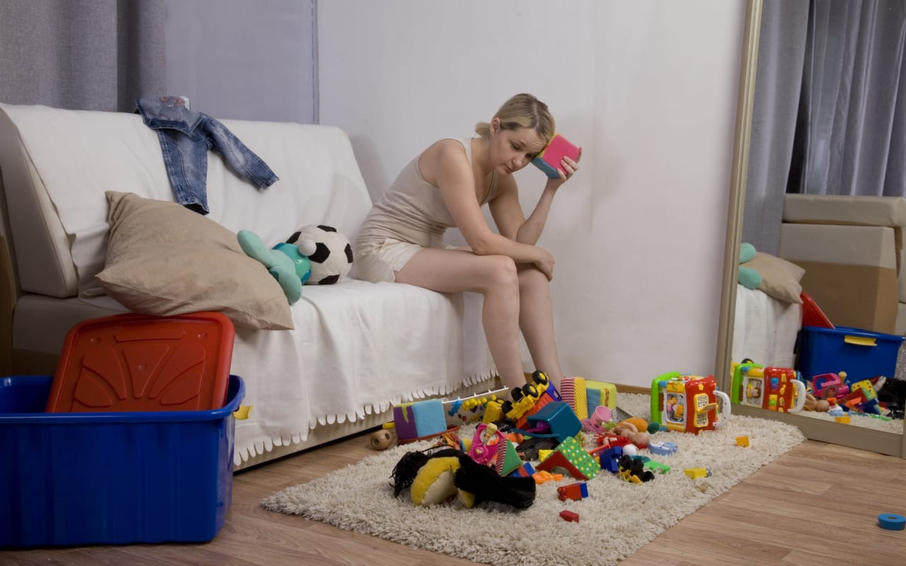 Does a Cluttered House Create a Cluttered Mind?