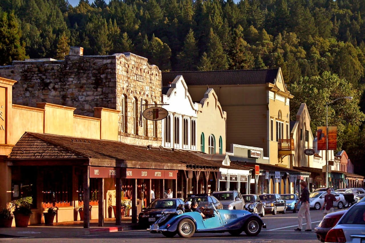 Calistoga in the Summer