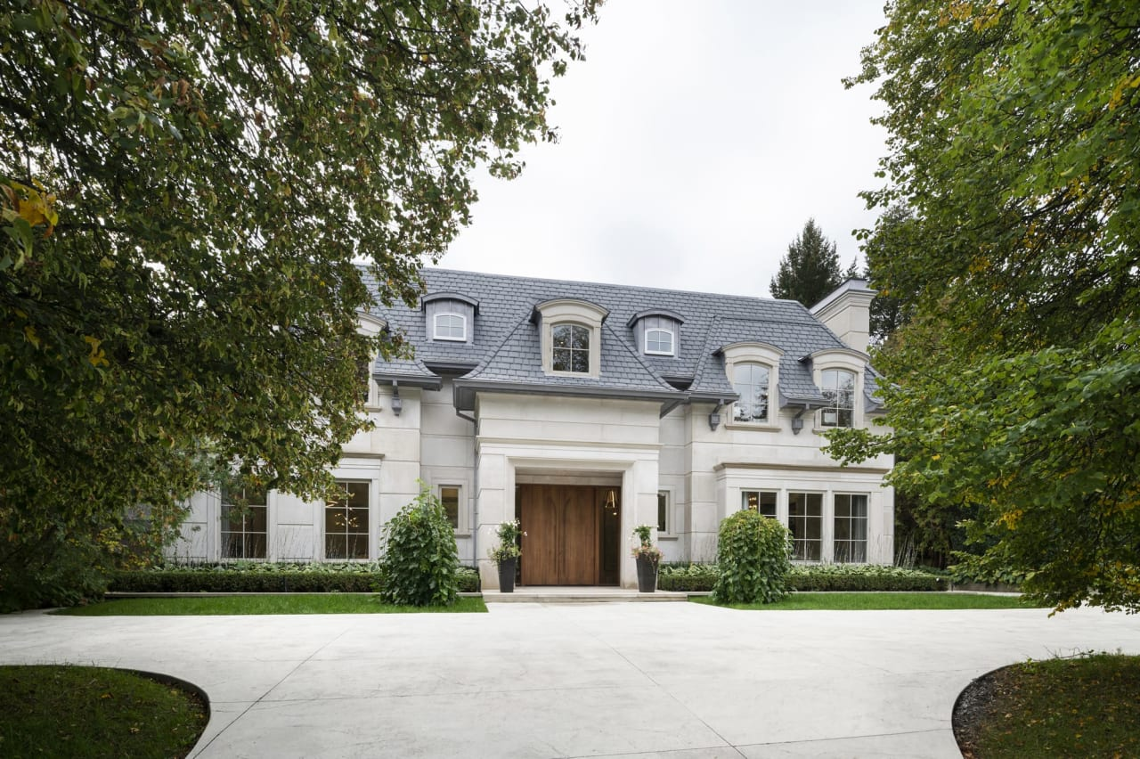 Gated Limestone Estate With LA Inspired Rear Oasis