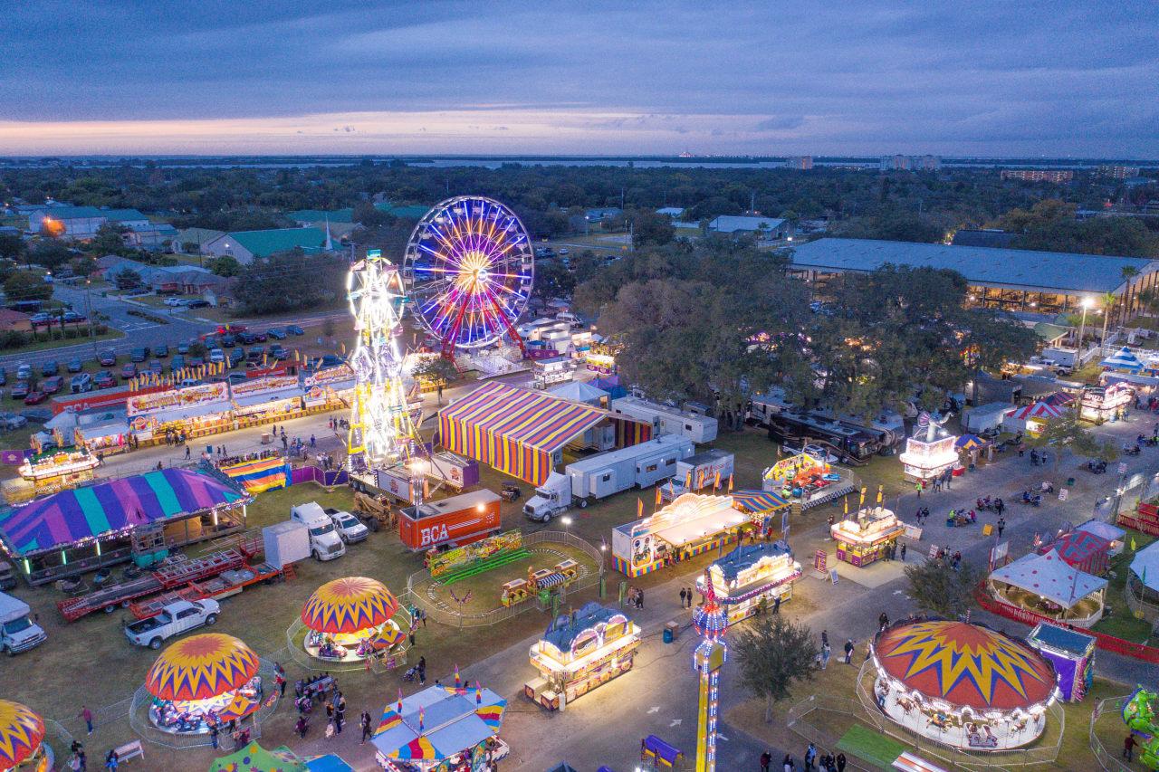 The Manatee County Fair kicked off Thursday night