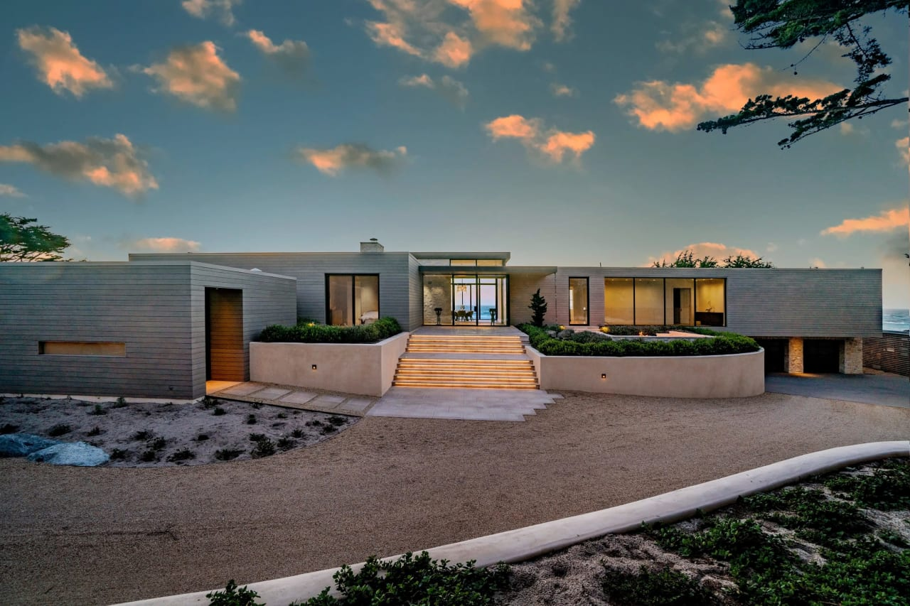 Beachside Contemporary Masterpiece - 1145 Spyglass Hill Road, Pebble Beach