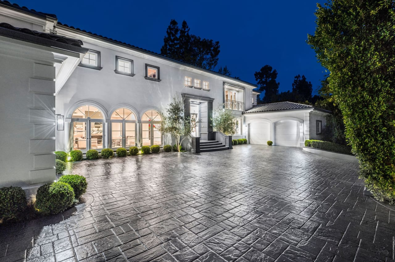 Re-Imagined Transitional Contemporary Estate