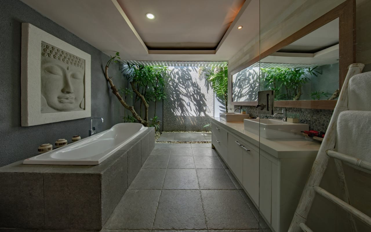 How to Design a Sustainable, Spa-like Bathroom