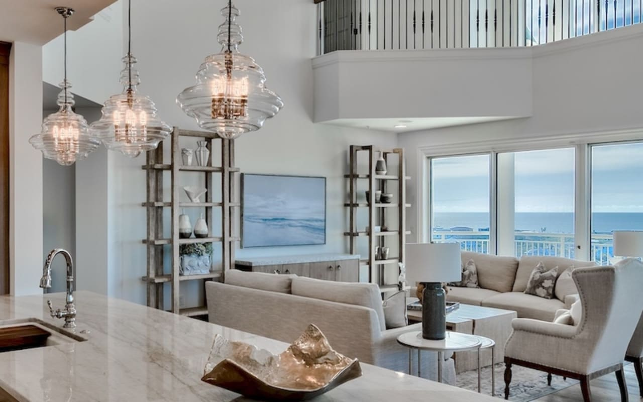 Sophisticated Penthouse on the Harbor – 950 Grand Harbor (Video)