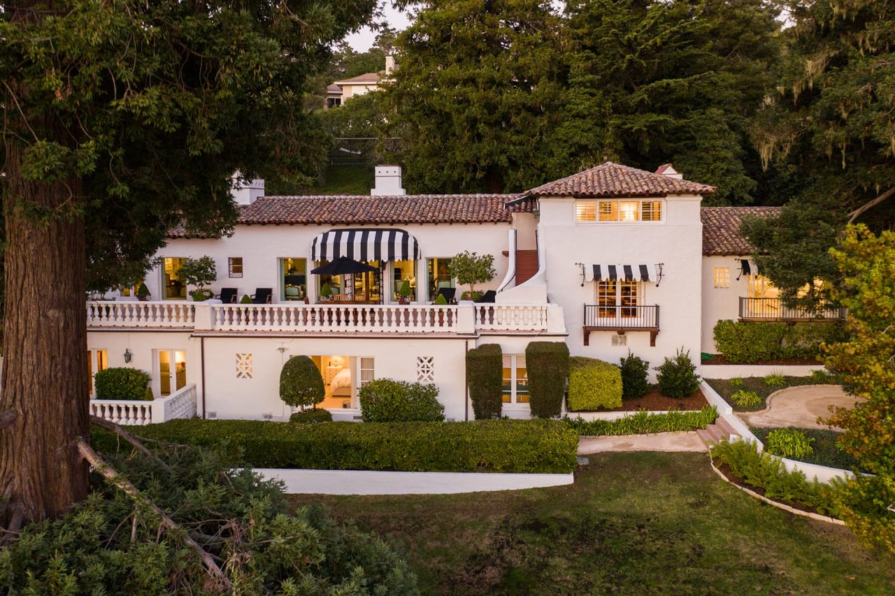 Mediterranean Estate Across From Pebble Beach Lodge - 3359 17 Mile Drive